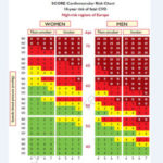 Шкала SCORE для оценки сердечно сосудистого риска